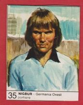 West Germany Norbert Nigbur Schalke 04